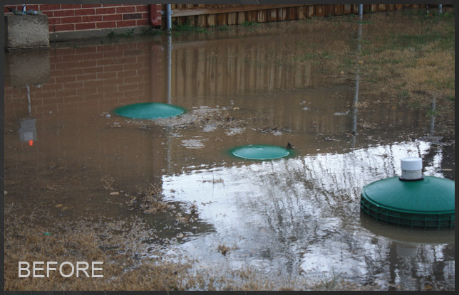 Cleburne, TX - Morales Family - Drainage Solutions Past ...