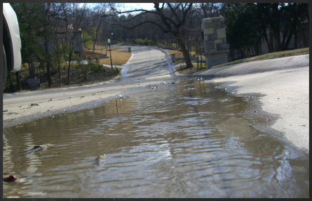 Dallas drainage and ft worth yard drainage and flooding for Backyard flooding solutions