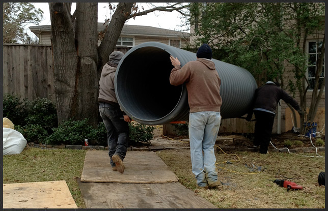 Dallas Drainage and Ft Worth Yard Drainage and Flooding Specialist, Professional Drain ...