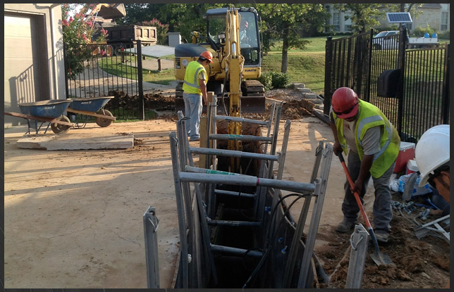 Drainage Project - Dallas Fort Worth Texas