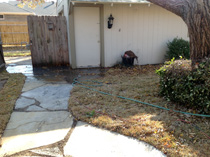 Richardson TX Drainage Project After Photo